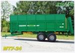 Машина для внесения твердых органических удобрений МТУ-24